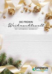 proWIN Weihnachtsshopping 2018 - Geschenke