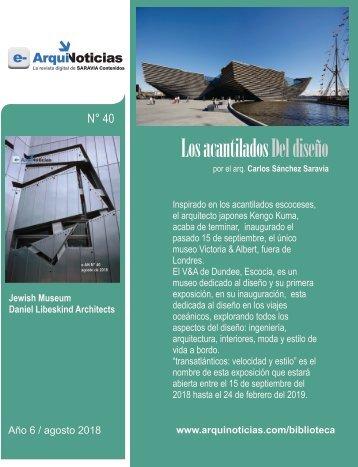 e-AN 39 nota 4 Los acantilados del diseño por Carlos Sanchez Saravia