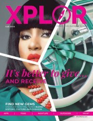 XPLOR fall 2018 - Vol. 1, Issue 3