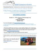 October 2018 FRC Member Newsletter - Page 3