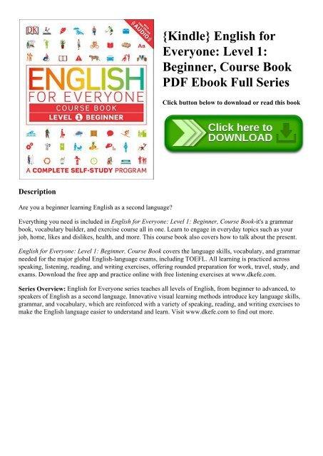 english language course book pdf free download