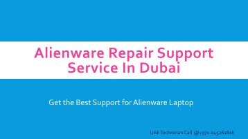 Alienware Repair Support Service In Dubai