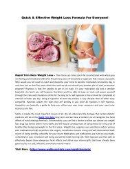 Rapid Trim Keto :  Reduce Extra Body Fat & Get Attractive Figure!