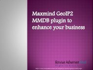 Maxmind GeoIP2 MMDB plugin to enhance your business