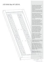 LUXART Midi-Bay HP 100W