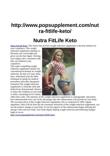 http://www.popsupplement.com/nutra-fitlife-keto/
