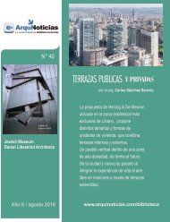 e-AN N° 39 nota 2 Terrazas publicas y privadas por Carlos Sánchez Saravia