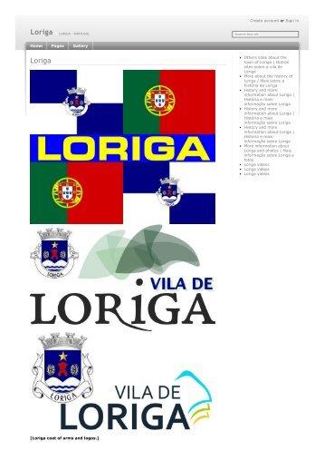 History of Loriga by the historian António Conde - História de Loriga pelo historiador António Conde