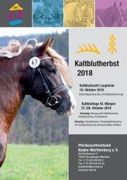 Kaltblutherbst 2018