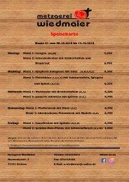 Speisekarte Glatten KW 41