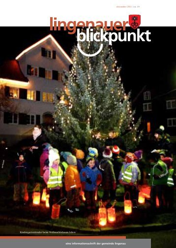 ab letzter Ausgabe - Lingenau