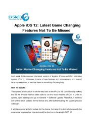 Apple iOS 12 Latest Game Changing Features Not To Be Missed