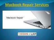 Get the MacBook repair services in UAE, Call 045262820