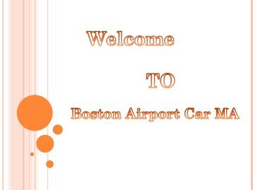 Private Airport Transportation Boston-converted