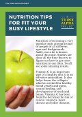 Nutrition Tips For Fit Your Busy Lifestyle - Page 2