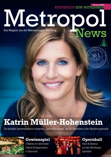 Metropol News Oktober 2018