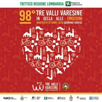 Brochure 98° Tre Valli Varesine 2018