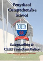 Safeguarding and Child Protection Policy
