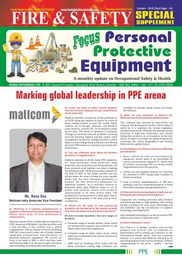 Focus Personal Protective Equipment October 2018