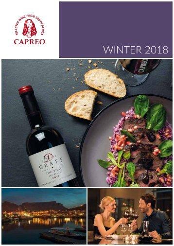 CAPREO Winterkatalog 2018