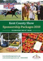 KCS Sponsorship Brochure 2019