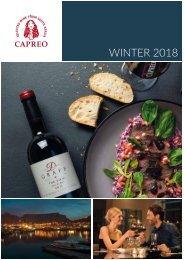 CAPREO Winter Catalogue 2018