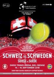Davis Cup - Suisse vs Suède - 2018