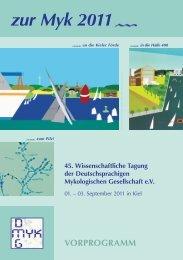 zur Myk 2011 - Deutschsprachige Mykologische Gesellschaft eV