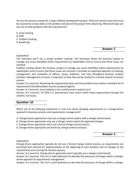 CCBA Dumps - Real IIBA CCBA Exam Questions PDF
