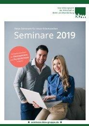 bbw Gruppe - Seminare 2019
