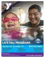 Brandywine YMCA - Late Fall Program Guide 2018