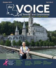 The Voice of Southwest Louisiana October 2018 Issue