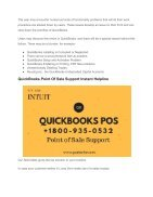 Intuit QuickBooks Point Of Sale Support - PosTechie Learn & Support - Page 2