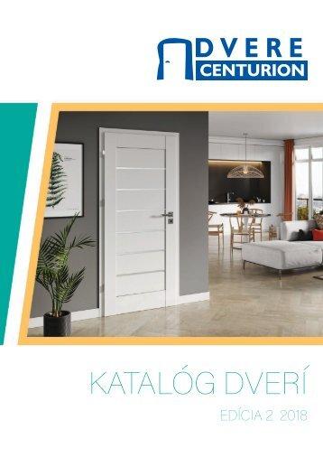 Dvere Centurion - KATALOG 2018 ed-2