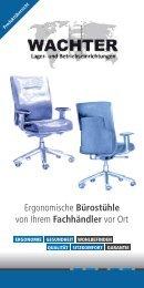 Wachter Katalog Bürostühle