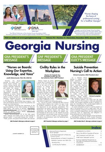 Georgia Nursing - November 2018