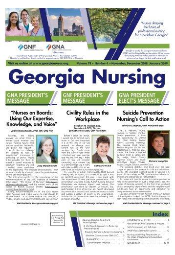 Georgia Nursing - November 2018