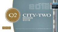 CITY for TWO BREMEN | Limitierte Ausgabe 2019