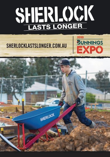 Silvan&Sherlock Bunning's Expo Booket AUS 2018