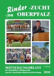 Rinder -ZUCHT OBERPFALZ - Rinderzuchtverband Oberpfalz e.V.