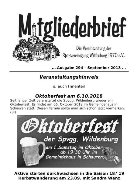 Ausgabe 294 - September 2018