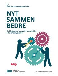 Innovationsbarometeret: NYT SAMMEN BEDRE