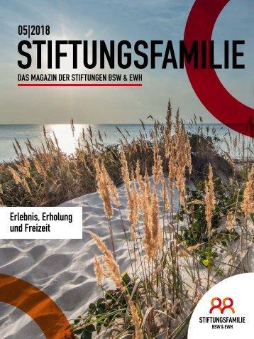 Stiftungsfamilie - Ausgabe 05/2018