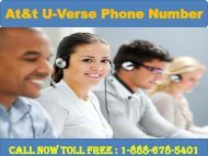 Dial 1-888-678-5401 At&t U-Verse Phone Number-converted