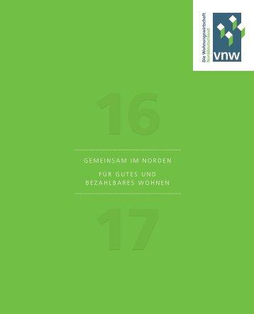 VNW-Tätigkeitsbericht - 2016