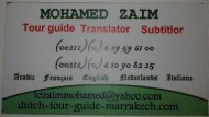 Tour guide in Marrakech