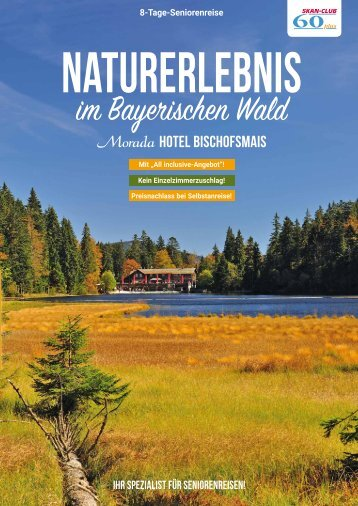 Naturerlebnis im Bayerischen Wald