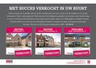 Erik Bessems Makelaardij, met succes verkocht in Reuver en Swalmen!