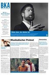 Berner Kulturagenda N°40