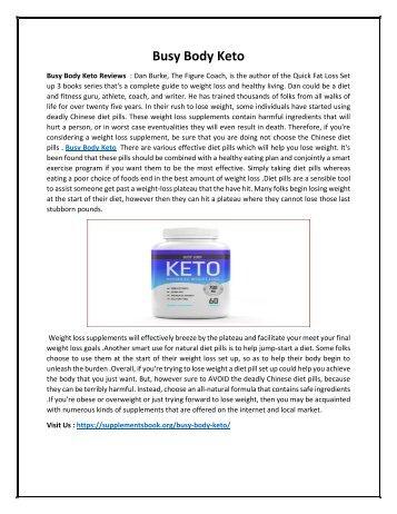 Busy Body Keto - Safely Raise Metabolism & Block Carbs